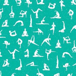 I love yoga - Sea spray green
