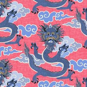 dragon - coral