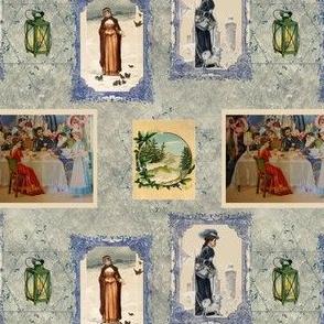 Victorian Postcards for Hanukkah
