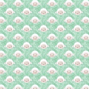 "(3/4"" scale) little lamb - green C18BS"