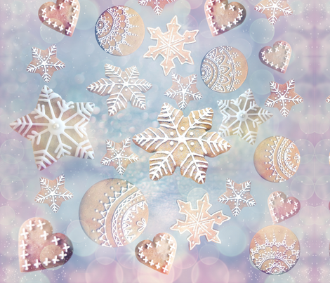 Ginger dream fabric by snarets on Spoonflower - custom fabric