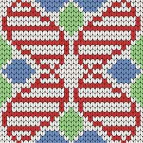 08169463 : knit DNA argyle
