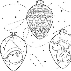 Colour in Christmas Baubles