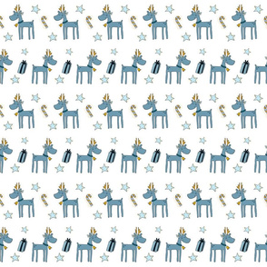 Baby Reindeer And Stars