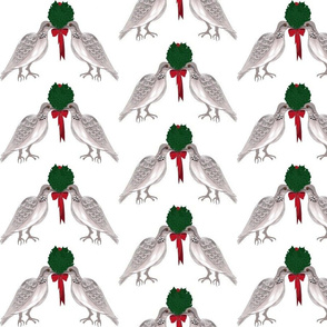 12 Days of Christmas Two Turtle Doves