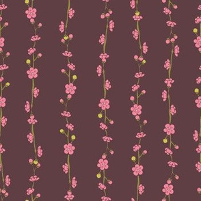 Plum Blossom stripes