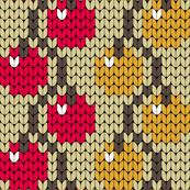 08171635 : knit berry vine pair