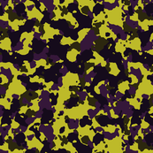 Brown Yellow Purple Violet Color Basic Army Military Camo Camouflage Pattern