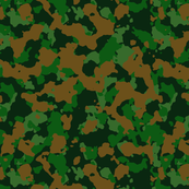 Green Brown Color Basic Army Military Camo Camouflage Pattern