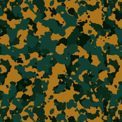 Jungle Green Gold Yellow Color Basic Army Military Camo Camouflage Pattern