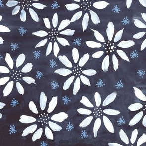 Indigo Flowers & Flakes