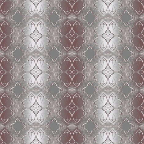 Modern  art gray and burgundy fabric by linoyanna on Spoonflower - custom fabric