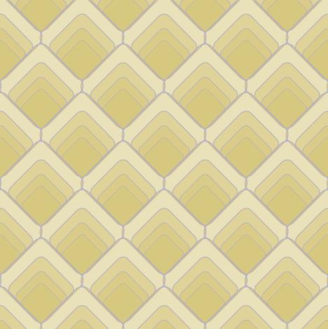 Art Decoesque - 26-02 fabric by ardentdesignau on Spoonflower - custom fabric