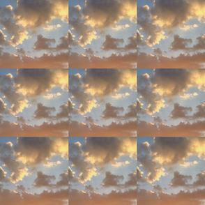 Clouds at Sunrise El Cajon