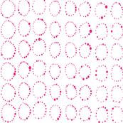 Around We Go- hot pink