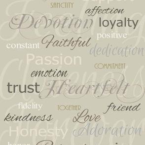 Devotion Text  Set C Art Print