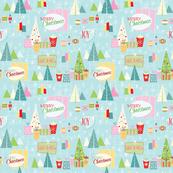 Retro Christmas-Granny's Quilt