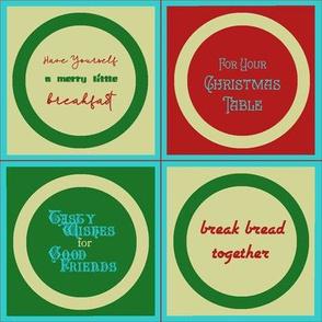 Mason Jar Toppers, Christmas Edition
