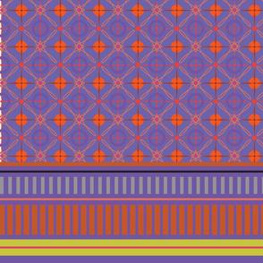 Tea Towel Purple 2