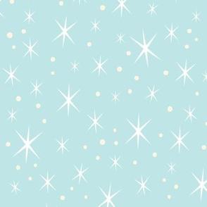 Retro Stardust -Granny's Quilt