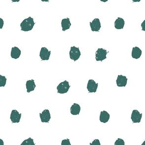 ocean scribble dots