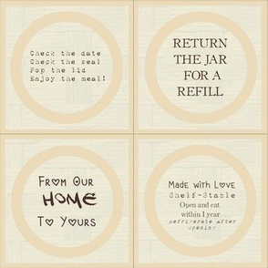 Mason Jar Toppers: Practical Kindness Edition