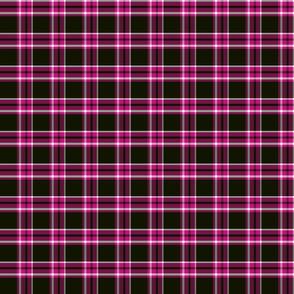 pink and black plaid ii 2x2