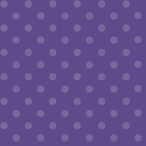 Dark Dotty: Ultra Violet Purple Dots