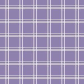 "Pretty Plaid 1"": Violet Purple Plaid"