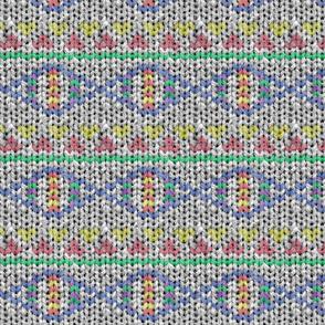 Fair Isle Sweater Knit DNA