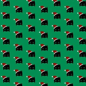 Christmas Santa Batmask