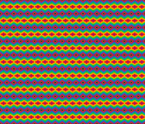Mini Rainbow Diamondback fabric by just_meewowy_design on Spoonflower - custom fabric