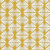 Lattice in gold