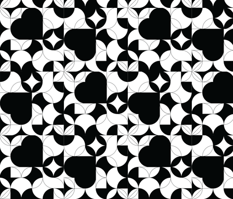 bigBW fabric by teal_feather on Spoonflower - custom fabric