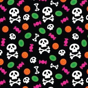 AmyFabric Skull and Crossbones