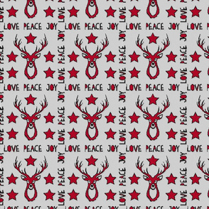Deer Pattern Cosy Knitting Look