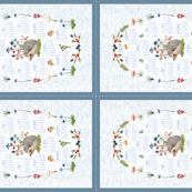 2019 four tea towel layout