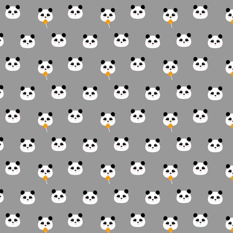 LOLLIPOP PANDA fabric by marilynpatrizio on Spoonflower - custom fabric