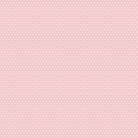 "4"" White Polka Dots Pink Back fabric by shopcabin on Spoonflower - custom fabric"