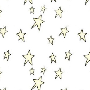 Project 842 | Christmas Stars on White
