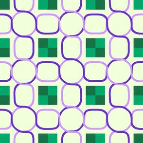 Celtic Chain - Purple Green