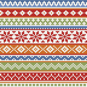 Fair Isle Multicolor