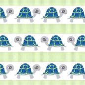 Baby Turtles Blue & Green