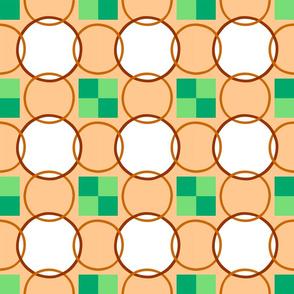Celtic Rings - Brown Green
