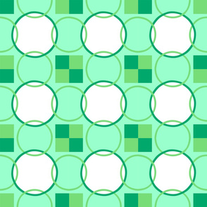 Celtic Rings - Greens