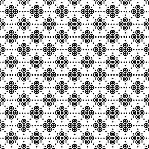 Dots and Spots - Black on White