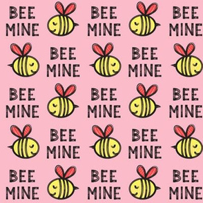 Bee Mine (red) - pink 2