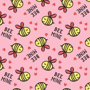 Bee Mine (Red)  - Pink - valentines day