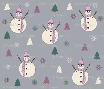 Sweet Snowman.