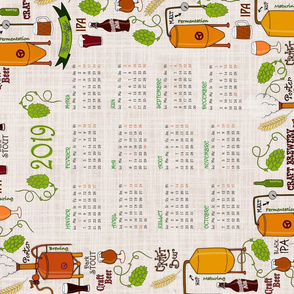 Craft beer calendar 2019 (French version!)